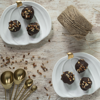 Dark Chocolate Maple Truffles | LorAnn Oils