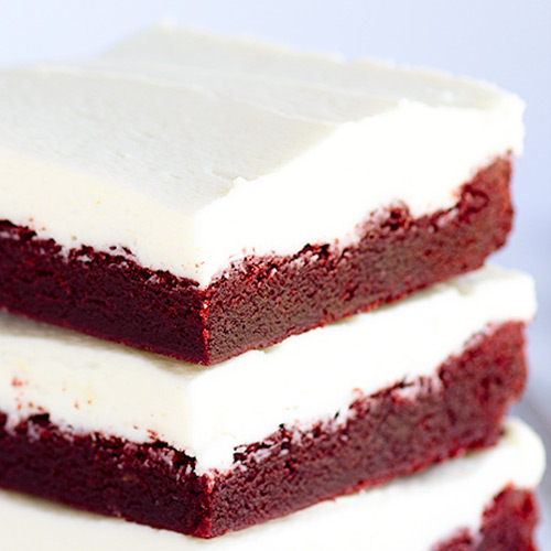 Chewy Red Velvet Bars | LorAnn Oils