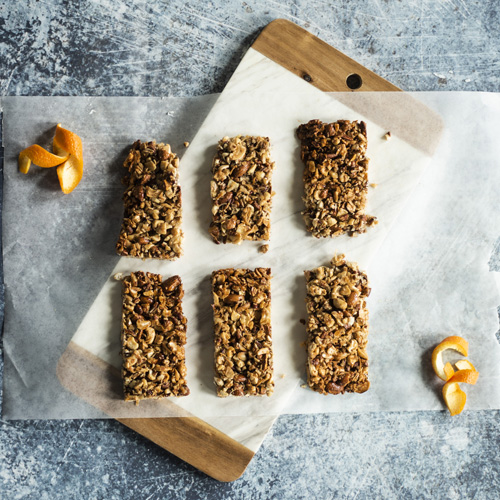 Orange Granola Bars