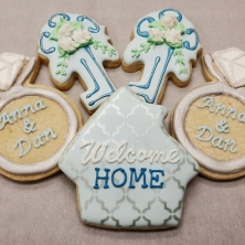 House Warming Proposal Cookies